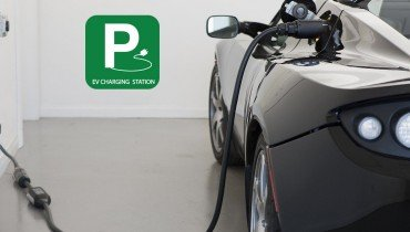 Buttonwood Property Management EV Charging Station