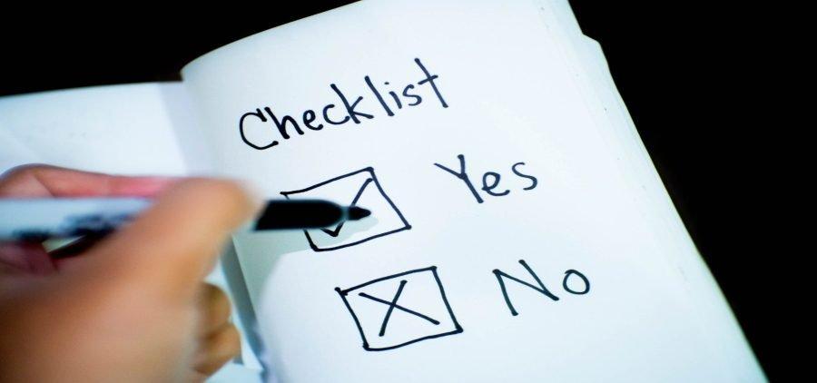rental cleaning checklist
